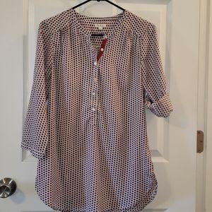 Antilia Femme 3/4 Sleeve Tunic